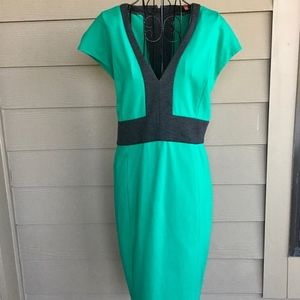 NWT Narciso Rodriguez Color Block Dress XL